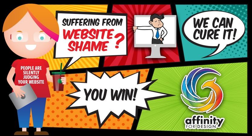 Website shame