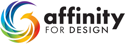 Affinity for Design Logo