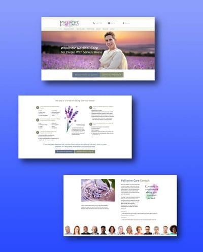 Palliative Care Counselor Website