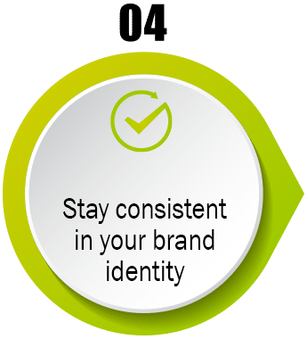 Stay Consistent with your Branding